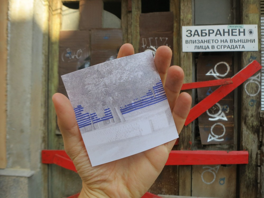 <p>Experience Economies, <em>At Home He's a Tourist</em>, 2014. One Architecture Week, Plovdiv. Photo: Gavin Kroeber.</p>