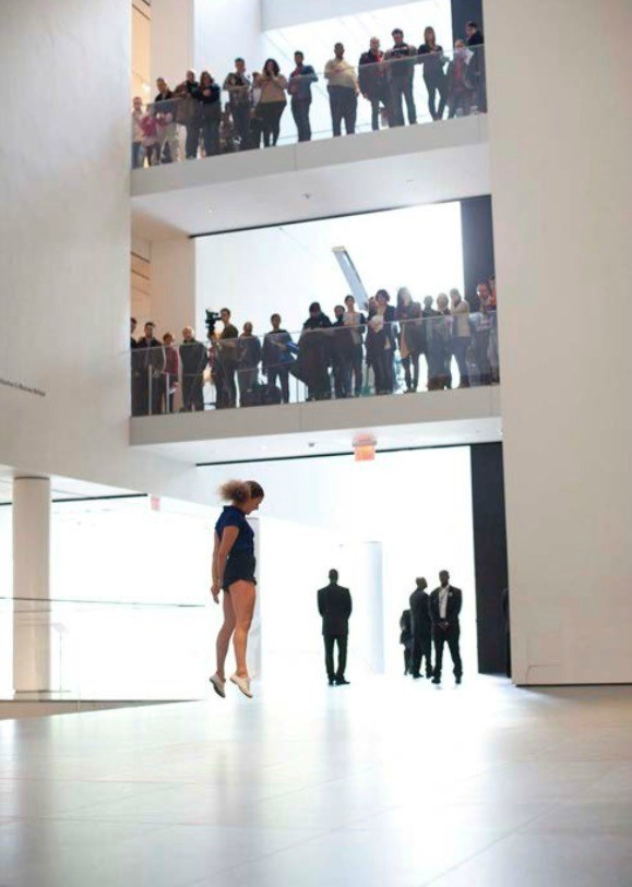 <p>Performance of Sarah Michelson's Devotion Study #3 (2012) at The Museum of Modern Art, November 2012. Part of Some sweet day (October 15 November 4, 2012). © 2012 Museum of Modern Art, New York. Photo: Paula Court.</p>