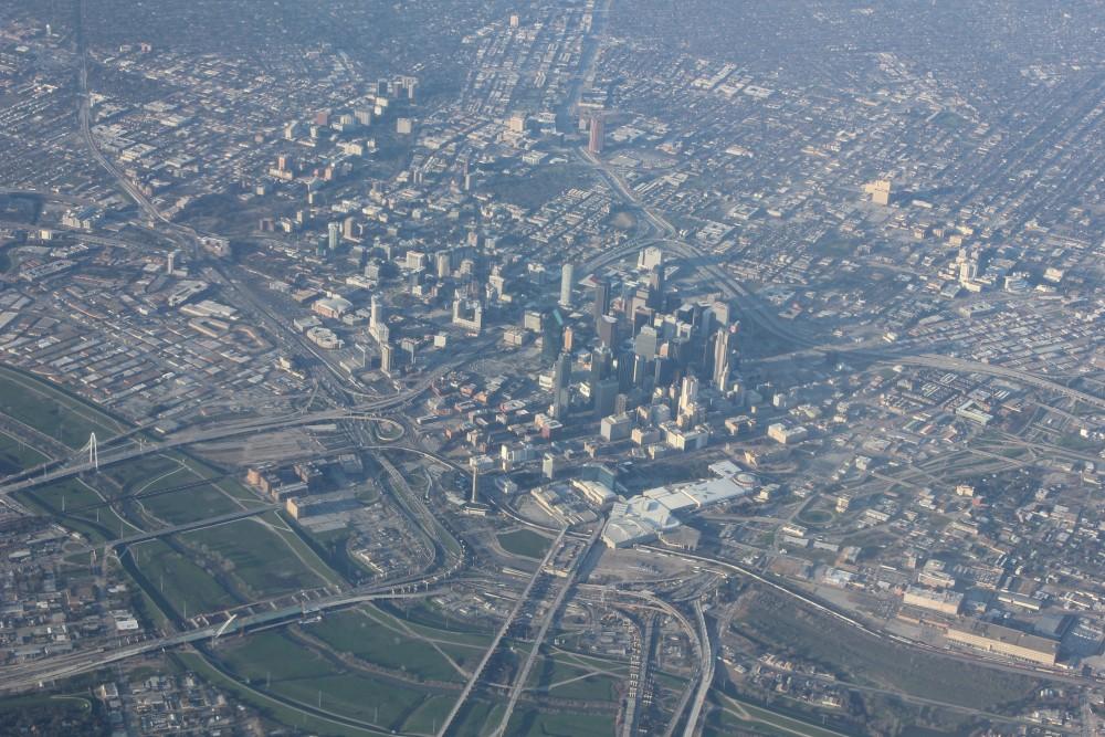 <p><em>Over Dallas.</em> Photo: Nicolas Henderson. Used by permission as a part of the <em>New Cities, Future Ruins</em> website.</p>